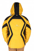 Оптом Куртка зимняя мужская желтого цвета 9455J, фото 2