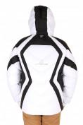 Оптом Куртка зимняя мужская белого цвета 9455Bl в  Красноярске, фото 2