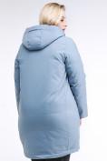 Оптом Куртка зимняя женская молодежная серого цвета 95-906_2Sr в Казани, фото 6