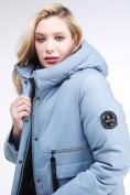 Оптом Куртка зимняя женская молодежная серого цвета 95-906_2Sr в Казани, фото 8