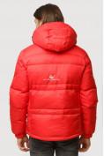 Оптом Куртка зимняя мужская красного цвета 9521Kr в Екатеринбурге, фото 4
