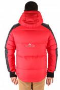 Оптом Куртка пуховик мужская красного цвета 9636Kr в Екатеринбурге, фото 3