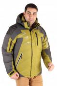 Оптом Куртка пуховик мужская болотного цвета 9683Bt в Казани, фото 2
