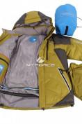 Оптом Куртка пуховик мужская болотного цвета 9683Bt в Казани, фото 4
