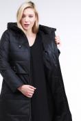 Оптом Куртка зимняя женская классическая черного цвета 98-920_701Ch в  Красноярске, фото 6