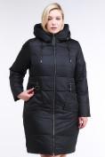 Оптом Куртка зимняя женская классическая черного цвета 98-920_701Ch в  Красноярске, фото 2
