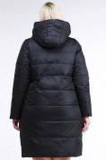 Оптом Куртка зимняя женская классическая черного цвета 98-920_701Ch в  Красноярске, фото 4
