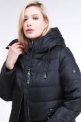 Оптом Куртка зимняя женская классическая черного цвета 98-920_701Ch в  Красноярске, фото 7