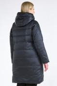 Оптом Куртка зимняя женская классическая болотного цвета 98-920_122Bt в Казани, фото 5