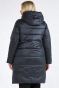 Оптом Куртка зимняя женская классическая болотного цвета 98-920_122Bt в Казани, фото 6