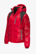 Оптом Куртка зимняя мужская красного цвета 9952Kr в Казани, фото 2