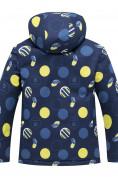 Оптом Горнолыжный костюм подростковый для мальчика темно-синего цвета 8915TS в Нижнем Новгороде, фото 3