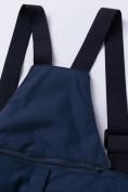 Оптом Горнолыжный костюм подростковый для мальчика темно-синего цвета 8915TS в Нижнем Новгороде, фото 15