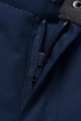 Оптом Горнолыжный костюм подростковый для мальчика темно-синего цвета 8915TS в Нижнем Новгороде, фото 19