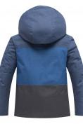 Оптом Горнолыжный костюм подростковый для мальчика синего 8929S в Екатеринбурге, фото 3