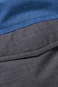 Оптом Горнолыжный костюм подростковый для мальчика синего 8929S в Екатеринбурге, фото 11