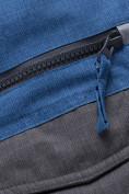 Оптом Горнолыжный костюм подростковый для мальчика синего 8929S в Екатеринбурге, фото 12