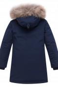 Оптом Куртка парка зимняя подростковая для мальчика темно-синего цвета 8936TS в Екатеринбурге, фото 2
