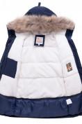 Оптом Куртка парка зимняя подростковая для мальчика темно-синего цвета 8936TS в Казани, фото 9