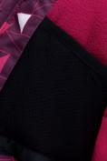 Оптом Горнолыжный костюм детский малинового цвета 8912М в  Красноярске, фото 14