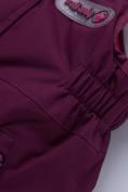 Оптом Горнолыжный костюм детский малинового цвета 8912М в  Красноярске, фото 23