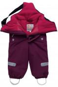 Оптом Горнолыжный костюм детский малинового цвета 8912М в  Красноярске, фото 6