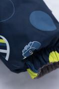 Оптом Комбинезон для мальчика зимний синего цвета 8905S в Нижнем Новгороде, фото 10