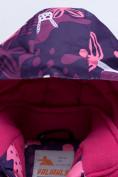 Оптом Горнолыжный костюм для ребенка фиолетового цвета 8928F, фото 7