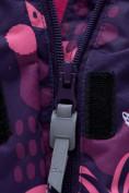 Оптом Горнолыжный костюм для ребенка фиолетового цвета 8928F, фото 8