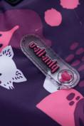 Оптом Горнолыжный костюм для ребенка фиолетового цвета 8928F, фото 10