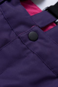 Оптом Горнолыжный костюм для ребенка фиолетового цвета 8928F в  Красноярске, фото 17