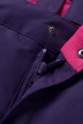 Оптом Горнолыжный костюм для ребенка фиолетового цвета 8928F, фото 18