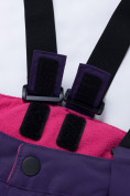 Оптом Горнолыжный костюм для ребенка фиолетового цвета 8928F в  Красноярске, фото 21