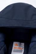 Оптом Горнолыжный костюм для мальчика темно-синего цвета 8921TS, фото 6