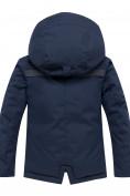 Оптом Горнолыжный костюм для мальчика темно-синего цвета 8921TS, фото 3