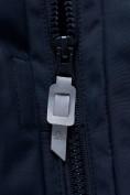 Оптом Горнолыжный костюм для мальчика темно-синего цвета 8921TS, фото 9