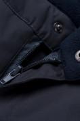 Оптом Горнолыжный костюм для мальчика темно-синего цвета 8921TS, фото 15