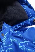 Оптом Комбинезон Valianly детский синего цвета 9023S, фото 5