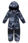 Оптом Комбинезон для мальчика зимний серого цвета 8907Sr в  Красноярске