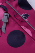 Оптом Горнолыжный костюм подростковый для девочки малинового цвета 8916M в Казани, фото 11