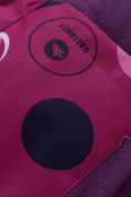 Оптом Горнолыжный костюм подростковый для девочки фиолетового цвета 8916F, фото 14