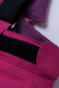 Оптом Горнолыжный костюм подростковый для девочки малинового цвета 8916M в Казани, фото 20