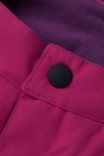 Оптом Горнолыжный костюм подростковый для девочки фиолетового цвета 8916F, фото 21