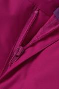 Оптом Горнолыжный костюм подростковый для девочки малинового цвета 8916M в Казани, фото 22