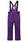 Оптом Горнолыжный костюм подростковый для девочки фиолетового цвета 8916F в Екатеринбурге, фото 4