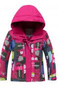 Оптом Горнолыжный костюм для ребенка розового цвета 8926R в Нижнем Новгороде, фото 2