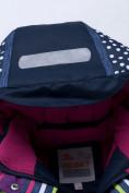 Оптом Горнолыжный костюм подростковый для девочки темно-фиолетового 8930TF в Перми, фото 7