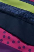 Оптом Горнолыжный костюм подростковый для девочки темно-фиолетового 8930TF в Перми, фото 8