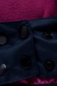 Оптом Горнолыжный костюм подростковый для девочки темно-фиолетового 8930TF в Перми, фото 9