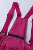 Оптом Горнолыжный костюм подростковый для девочки темно-фиолетового 8930TF в Перми, фото 14